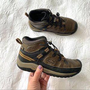 Keen boys boots sz 2 34 euro brown